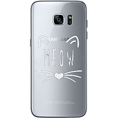 Meow Soft Material For Compatibility TPU For Samsung Galaxy S6 Edge Plus S6 S7 Edge S7