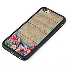 Mert Minta Case Hátlap Case Virág Kemény Alumínium AppleiPhone 7 Plus / iPhone 7 / iPhone 6s Plus/6 Plus / iPhone 6s/6 / iPhone SE/5s/5 /