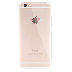 Per Fantasia/disegno Custodia Custodia posteriore Custodia Con logo Apple Morbido TPU per AppleiPhone 7 Plus / iPhone 7 / iPhone 6s