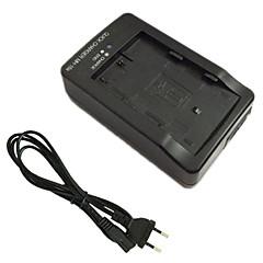 EL3e batterioplader og eu oplader kabel til Nikon EN-EL3e d90 D80 D300 D70 D50 D70s