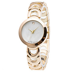 Damen Modeuhr / Armbanduhr Quartz / Edelstahl Band Cool / Bequem Gold Marke