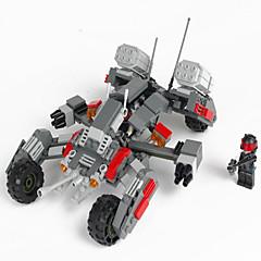 Actionfigurer og kosedyr / Byggeklosser for Gift Byggeklosser Modell- og byggeleke Tank ABS 5 til 7 år / 8 til 13 år / 14 år og oppover