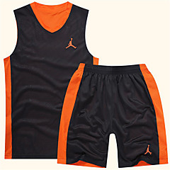 Sports Men's Sleeveless Leisure Sports / Running / Badminton / Basketball Clothing Sets/Suits Baggy Shorts Breathable / Quick DryL / XL /