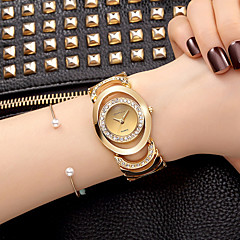 Women's Dress Watch Skeleton Strap Watch Fashion Watch Strap watch Bracelet Watch Quartz / Imitation Diamond Rhinestone Alloy BandVintage