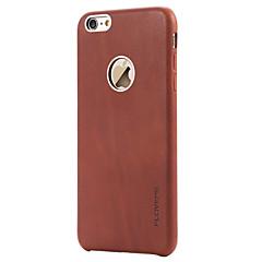 Για Ανθεκτική σε πτώσεις tok Πίσω Κάλυμμα tok Μονόχρωμη Σκληρή Γνήσιο δέρμα Apple iPhone 6s Plus/6 Plus / iPhone 6s/6