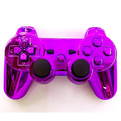 ציפוי SIXAXIS dualshock3 ג'ויסטיק האלחוטי Bluetooth gamepad בקר נטענת עבור PS3