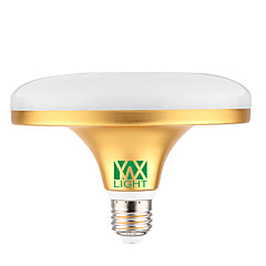YWXLight®  E27 24W 48 SMD 5730 2000-2400 LM Warm White / Cool White UFO Lamp AC 220-240V