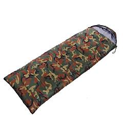 Schlafsack Rechteckiger Schlafsack Einzelbett(150 x 200 cm) 10 Hohlbaumwolle 1000g 200X75 Camping / Reisen / DrinnenWasserdicht /