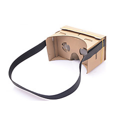 neje DIY Googleの段ボールバーチャルリアリティ3Dメガネは、4-7インチの携帯電話のためのNFCとヘッドバンド