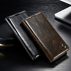 CaseMe New Fashion Crazy Horse PU Leather Wallet Card Slot Cover Flip Case with Stand for Samsung Galaxy S4/S5