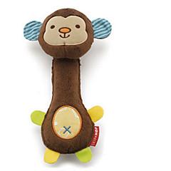반려동물 장난감 인터렉티브 찍찍 소리를 내다 플러쉬 브라운