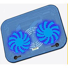 ultratynde dobbelt ventilator køling pad lav støj til laptop