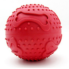 Haustierspielsachen Kugel Knochen Gummi