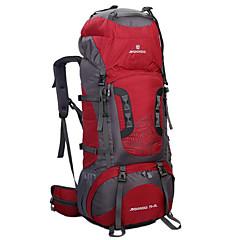 80 L Sırt Çantası Paketleri Bisiklet Sırt Çantası sırt çantası Tırmanma Serbest Sporlar Bisiklete biniciliği/Bisiklet Kamp & YürüyüşSu