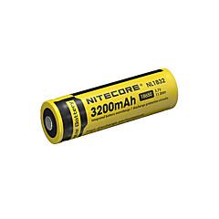 nitecore nl1832 3200mAh 3.7V 11.8wh 18650 li-ion akkumulátor