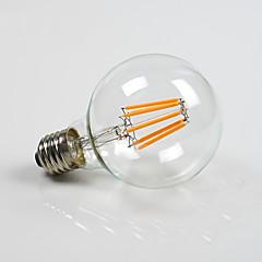 8W E26/E27 LED gömbbúrás izzók G80 8 COB 800 lm Meleg fehér Állítható AC 220-240 AC 110-130 V 1 db.