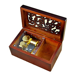 Music Box Castle in the Sky Sweet / Special / Creative Metal / Wood Brown For Boys / For Girls