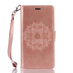 wiko lenny3 lenny2 pu 가죽 소재 흰 나비 꽃 패턴 나비 전화 케이스