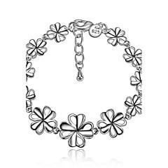 Dame Kæde & Lænkearmbånd Frynsetip(s) Mode Vintage kostume smykker Sølv Bladformet Smykker Til Bryllup Fest Fødselsdag Daglig Afslappet