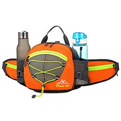 15 L rygsæk Bæltetasker Skuldertaske Cykling/Cykel Løb Jogging Campering & Vandring RejseVandtæt Reflekterende Regn-sikker Vandtæt Lynlås