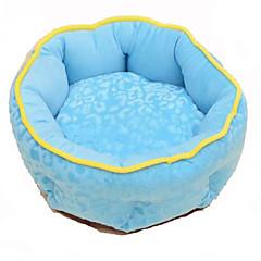 Cachorro Camas Animais de Estimação Mantas Respirável Azul Algodão