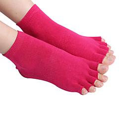 Unisex Calcetines Yoga A prueba de resbalones Reductor del Sudor Primavera Invierno Otoño