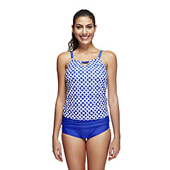 Damskie Oddychający Wysoka oddychalność (> 15.001 g) Gładki Elastan Terylene Skafander nurkowy Z krótkim rękawem Stroje kąpielowe-