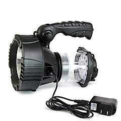 Világítás LED zseblámpák LED 300 Lumen 3 Mód Cree XR-E Q5 Lítium akkumulátor Tompítható High Power Sürgősségi