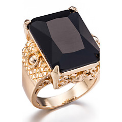 Ring / Resin Alloy Fashion Black Jewelry Party Daily Casual Sports 1pc