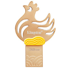 Kingston dtcny17 32GB USB 3.1 flash meghajtó chiken fém ultra kompakt