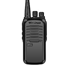 Wanhua htd815 kommercielle professionelle trådløse walkie-talkie 6w uhf 403-480mhz