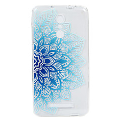 Mert Dombornyomott Minta Case Hátlap Case Csipke dizájn Puha TPU mert Xiaomi Xiaomi Redmi Note 3