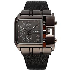 Men's Women's Unisex Sport Watch Military Watch Fashion Watch Wrist watch Quartz Genuine Leather Band Vintage Casual Multi-Colored