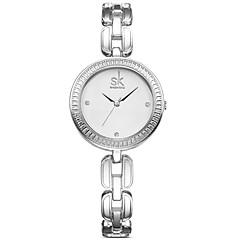 SK Dames Dress horloge Modieus horloge Kwarts / PU Band Vrijetijdsschoenen Elegante horloges Zilver Goud Goud Rose Goud Zilver Goud Rose