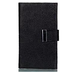 Mert Kártyatartó Porálló Case Teljes védelem Case Egyszínű Kemény Műbőr mert Sony Other