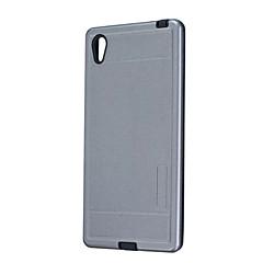 Mert Porálló Case Hátlap Case Egyszínű Kemény Szilikon mert Sony Sony Xperia Z5 Sony Xperia Z3 Sony Xperia M2