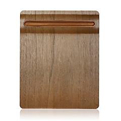 samdi weichen Holz Maus-Pad Matte multifunktionales mit Stifthalter extrem glatte Oberfläche für Maus mit Massivholzstifthalter Nussbaum