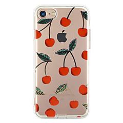 Voor Ultradun Patroon hoesje Achterkantje hoesje Fruit Zacht TPU voor Apple iPhone 7 Plus iPhone 7 iPhone 6s Plus/6 Plus iPhone 6s/6