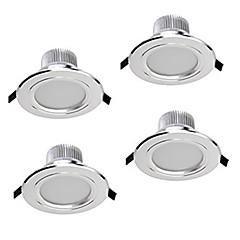 z®zdm 4 stuks 5W dimbare led downlights warm wit / koel wit / natuurlijk wit AC12V AC110 / 220v