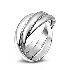 Ring Wedding Party Special Occasion Daily Casual Jewelry Alloy Ring Midi Rings Band Rings 1pc,6 7 8 9 Silver
