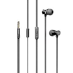 joway PK28 in-ear koptelefoon 3,5 mm-interface met afstandsbediening en microfoon draad controle headset voor smartphones / muziekspeler