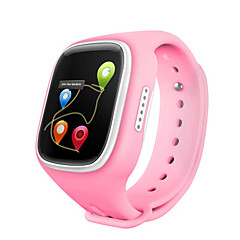 IPS WiFI GPS Location Smart Watch Children Wristwatch SOS Call Finder Locator Tracker Anti Lost Monitor Smartwatch Kids Changable  Color Belt