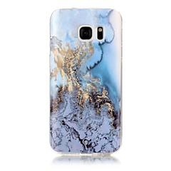 Varten IMD Kuvio Etui Takakuori Etui Marmori Pehmeä TPU varten Samsung S7 edge S7 S6 edge S6 S5 S4 S3