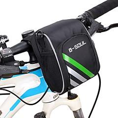 B-SOUL® Bisiklet ÇantasıBisiklet Gidon Çantaları Giyilebilir Bisikletçi Çantası Oxford Bisiklet Çantası Bisiklete biniciliği 15.5*11*9