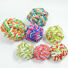 Cat Toy Dog Toy Pet Toys Ball Chew Toy Rope Woven Cotton