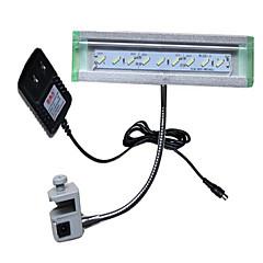 Akvaariot LED-valaistus Valkoinen Energiansäästö Myrkytön ja mauton LED-lamppu 220V