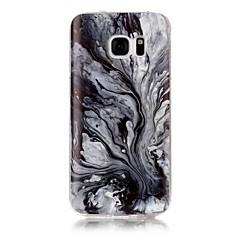 For IMD Mønster Etui Bagcover Etui Marmor Blødt TPU for Samsung S7 edge S7 S6 edge S6 S5 S4 S3