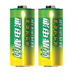 Shuanglu 8 alkaliparistot 1.5V kääntämiseksi kautta sähköisen kynä 2 pakkausta