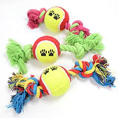 Kissan lelu Koiran lelu Lemmikkieläinten lelut Pallot Purulelut Interaktiivinen Hampaidenpuhdistus leluSarjakuva Köysi Elastinen Koira