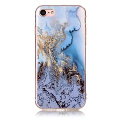 For IMD Mønster Etui Bagcover Etui Marmor Blødt TPU for AppleiPhone 7 Plus iPhone 7 iPhone 6s Plus/6 Plus iPhone 6s/6 iPhone SE/5s/5